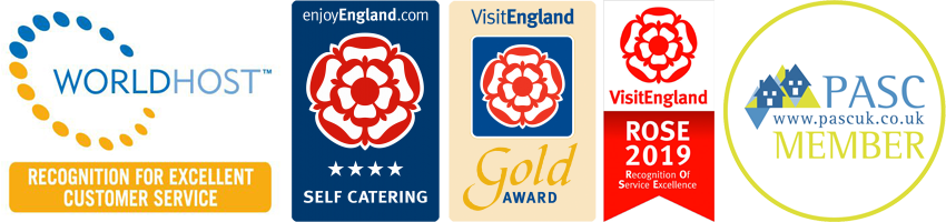 Upperfields Farm Enjoy England Gold Award