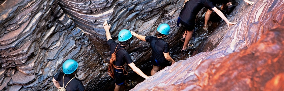 Gorge Walking and Abseiling